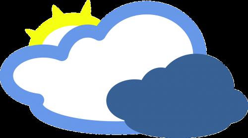 cloudy sunny cloud