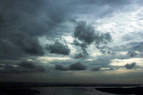 debesys, debesuota & nbsp, dangaus, mėlynas & nbsp, dangus, gamta, dangus, Debesuota, kalnas, vandenynas, vanduo, papludimys, jūra, tapetai, fonas, debesuota diena 3