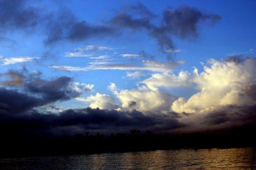 debesys, debesuota & nbsp, dangaus, mėlynas & nbsp, dangus, gamta, dangus, Debesuota, kalnas, vandenynas, vanduo, papludimys, jūra, tapetai, fonas, valtis, objektas, kitas, debesuota dangaus 5