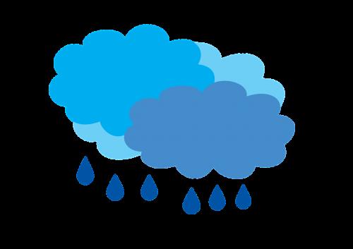 cloudy with rain rain the rain clouds