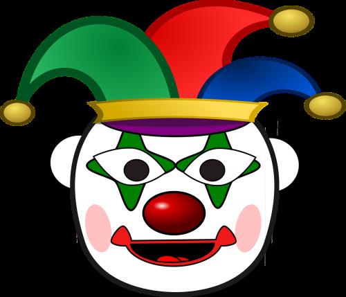 clown happy head