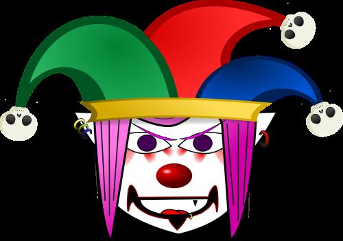 clown jester cartoon