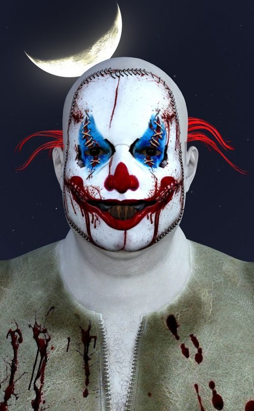 clown horror halloween