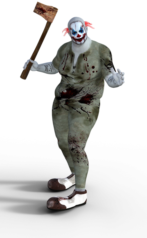clown terror horror