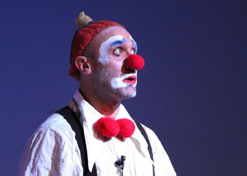 clown circus address by