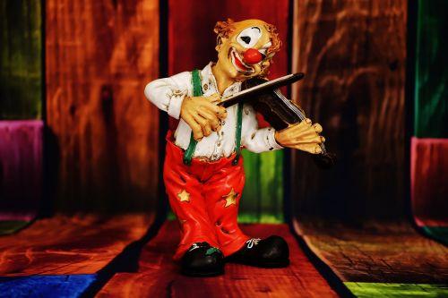 clown figure funny