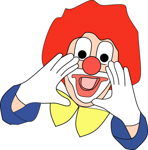 clown kids funny