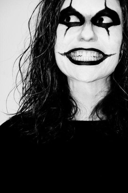 clown mask face