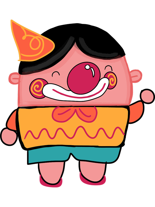 clown  cartoon  character