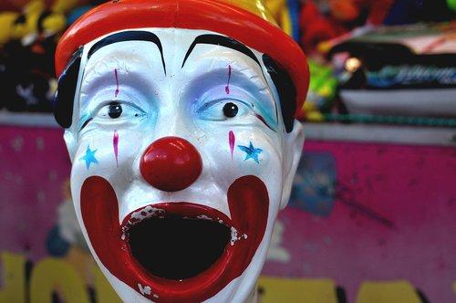 clown  colours  entertainment