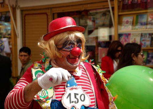 clown disguise circus