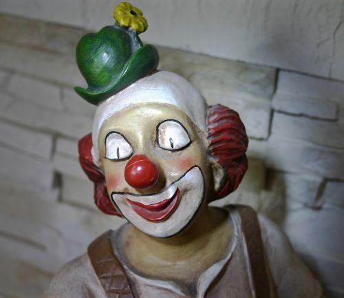 clown figure decoration