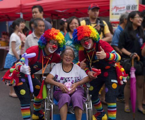 clown street party carnival