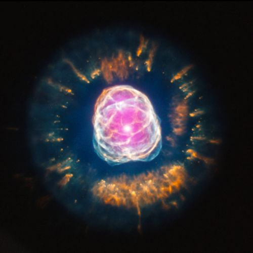 clown face nebula eskimo nebula ngc 2392
