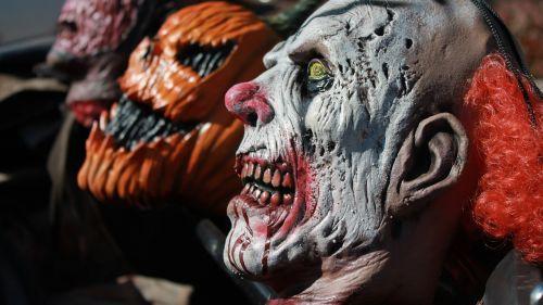 clown mask evil clown pumpkin mask