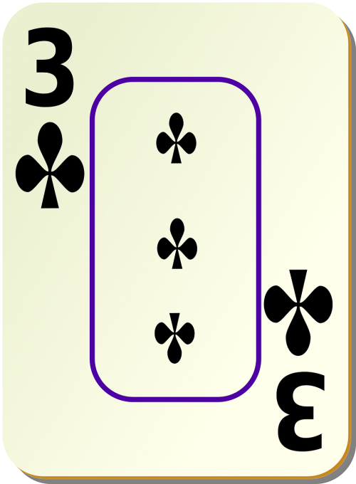 clubs 3 three