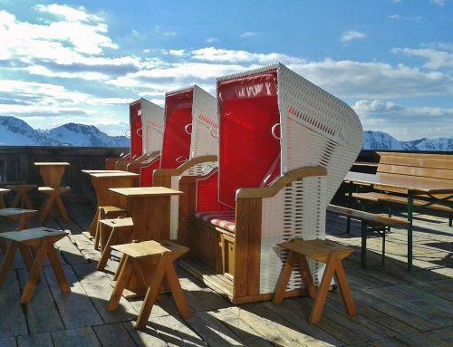 clubs ski holiday sun terrace