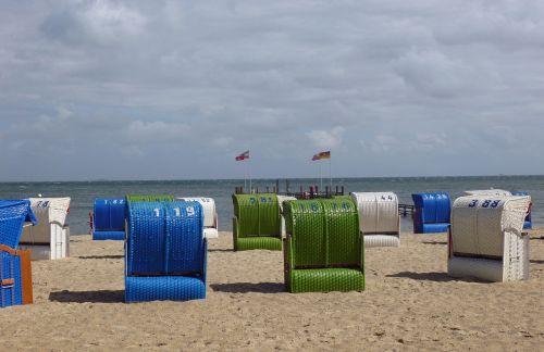 clubs colorful beach