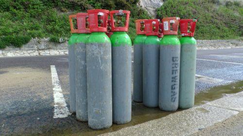 CO2 Cylinders Bottles