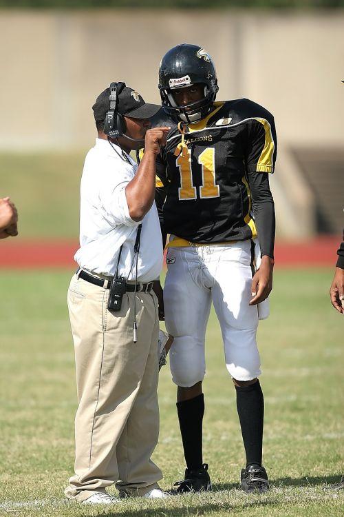 coach coaching football coach