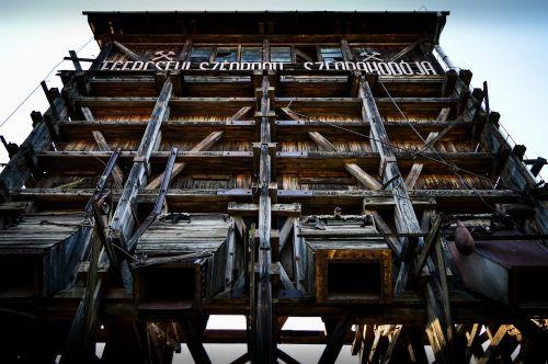 coal loader wood industrial
