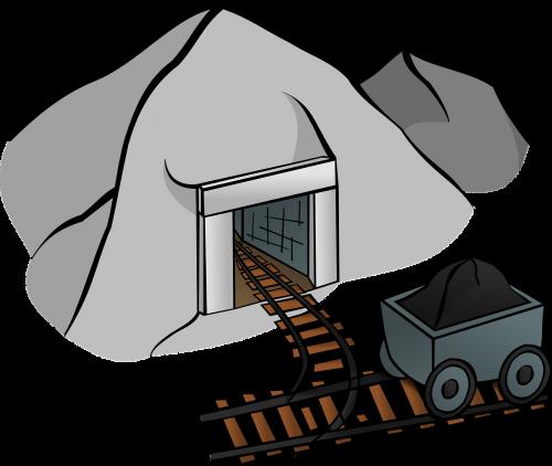 coal mine mine cave