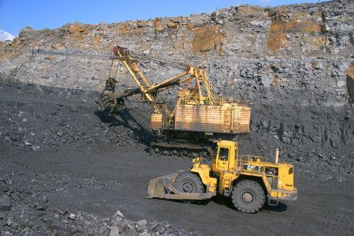 coal mining coal gigantic proportions