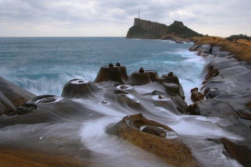 coast landscape stone