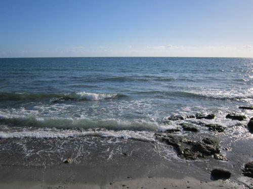 coast sea wave