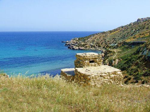 coast view rugged