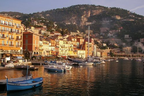 coast france mediterranean village