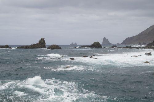 coast rocky coast atlantic