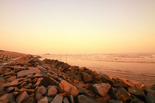 coast beach moisture provide