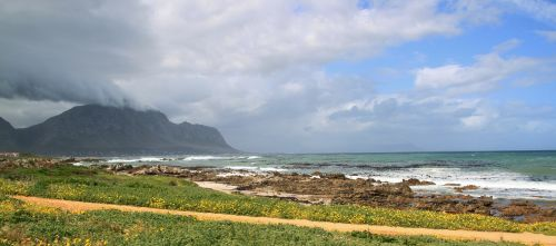 coast coastal landscape south africa