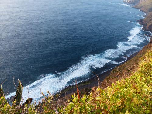 coast tenerife canary islands