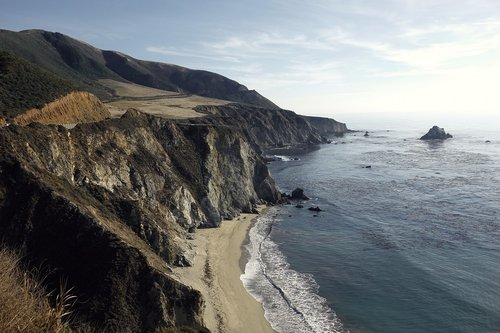 coast  california  nature