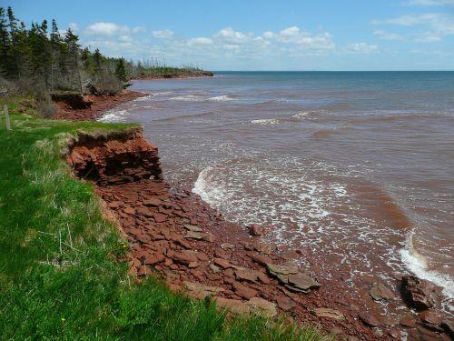 coast erosion eroded