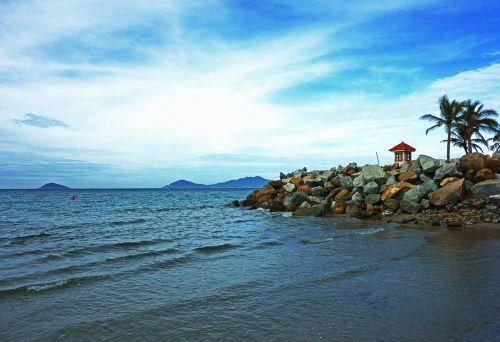 coast shore ocean