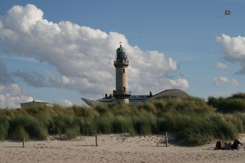 coast baltic sea warnemünde