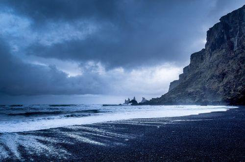 coast shore cliffs