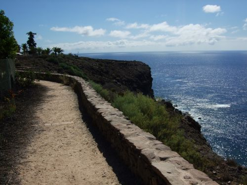 coast sea walk canary islands