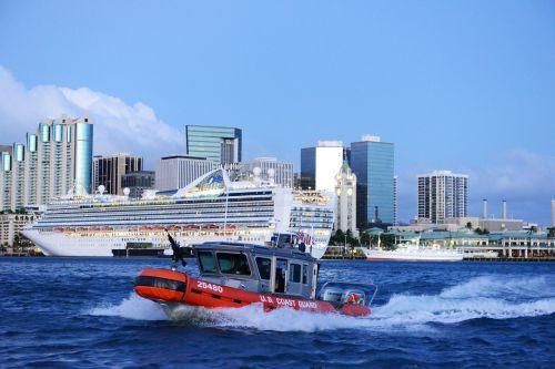 coast guard patrol harbor