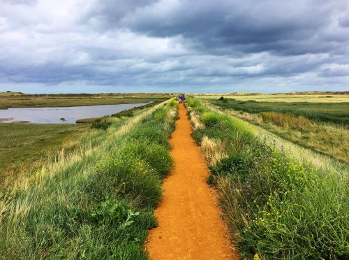 coast path marshes norfolk