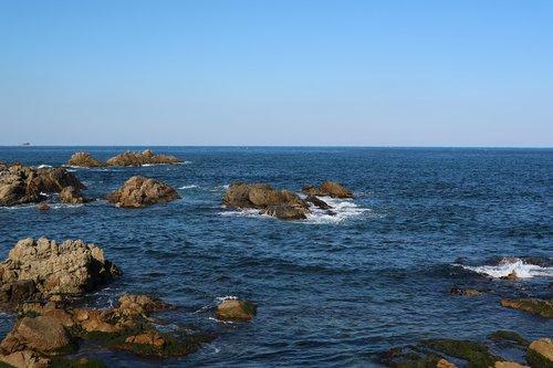 coastal  rocky beach