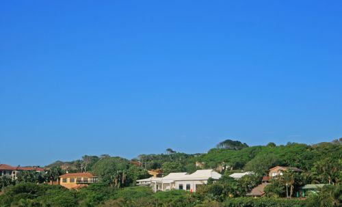 Coastal Homes On Tropical Coast
