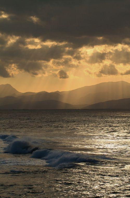 coastal landscape sea mediterranean