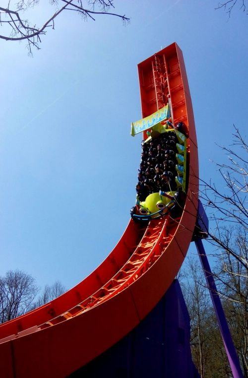 coaster thrill fun
