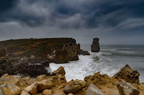 coastline ocean cliffs