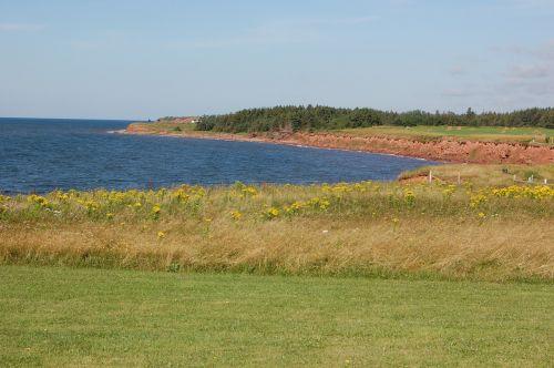 coastline prince edward island canada