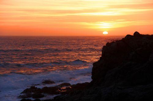 pakrantė,kranto,Kalifornija,Bodega įlanka,vandenynas,jūra,uolingas,akmenys,uolos pakrantė,gamta,vanduo,kraštovaizdis,saulėlydis